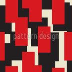 Overlap Of Rectangles Seamless Vector Pattern Design