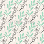 Twig Arrangement Seamless Vector Pattern Design