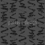 Waved Stripe Ribbons Seamless Vector Pattern Design