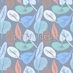 Dekorativer Blätter Traum Nahtloses Vektormuster