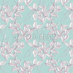 Painted Branches Seamless Vector Pattern Design