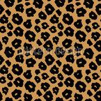 Gefleckte Jaguar-Haut Nahtloses Vektormuster