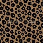 Spotted Jaguar Seamless Vector Pattern Design
