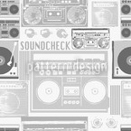 Soundcheck Seamless Vector Pattern
