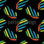 Arte Zebra Africana Design de padrão vetorial sem costura