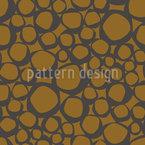 Trunk Circles Seamless Vector Pattern Design
