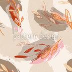 Arte da Natureza Design de padrão vetorial sem costura
