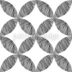 Abstract Line Art Seamless Vector Pattern Design