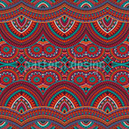 Ethnic Carpet Seamless Vector Pattern Design