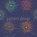 花火スプレー シームレスなベクトルパターン設計