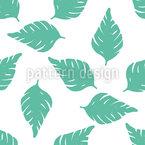 Dekorative Palmblätter Vektor Design