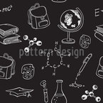 Study And School Supplies Seamless Vector Pattern Design