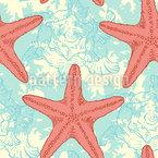 Reise unter dem Meer Nahtloses Vektormuster