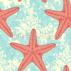 Trip Under The Sea Seamless Vector Pattern Design