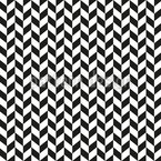 Monochrome Parallelogram Seamless Vector Pattern Design