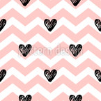 Lovely Zigzag Seamless Vector Pattern Design