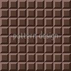 Schokoladen-Kacheln Nahtloses Vektormuster