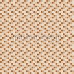 Hautfarbenes Mosaik Nahtloses Vektormuster