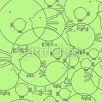 Piepsi In Spring Seamless Vector Pattern Design