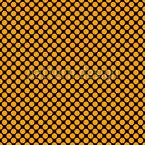 Pontos Flamboyant Design de padrão vetorial sem costura