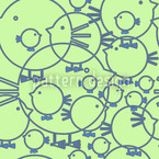 Piepsi Extreme Seamless Vector Pattern Design