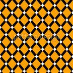 Diagonales Gitter Nahtloses Vektormuster