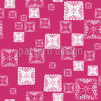 Abstract Ethno Squares Seamless Vector Pattern Design