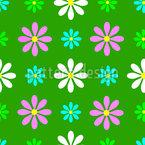 Frühlingsbote Nahtloses Vektormuster