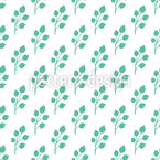 Spring Bud Seamless Vector Pattern Design