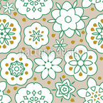 Floral Freshness Seamless Vector Pattern Design