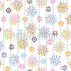 Silvias Flowers Vector Ornament