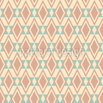 Geometric Rhombic Tiles Seamless Vector Pattern Design