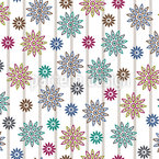 Silvias Flowers Extreme Seamless Vector Pattern Design