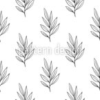 Twig Seamless Vector Pattern Design