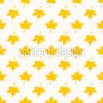 Simplicity Of Leaves Seamless Vector Pattern Design