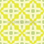 Cross And Square Seamless Vector Pattern Design