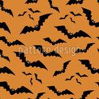 一群吸血鬼蝙蝠 无缝矢量模式设计