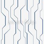 High-Tech Linien Nahtloses Vektormuster