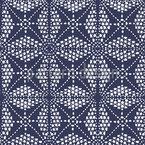 Geometric Ethnic Square Seamless Vector Pattern Design