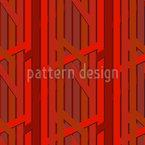 Abstrakte Baum-Linien Nahtloses Vektormuster