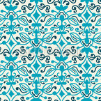 Stylized Arabesques Seamless Vector Pattern Design