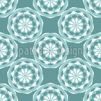Lacy Mandalas Seamless Vector Pattern Design