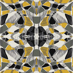 Abstract Symmetry Seamless Vector Pattern Design