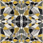 Abstrakte Symmetrie Nahtloses Vektormuster