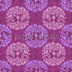 Calm Wood Purple Vector Ornament