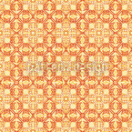 Arabic Gold Seamless Vector Pattern Design