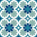 Griechische Blütenblätter Nahtloses Vektormuster