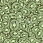 Abstrakte Kiwi Nahtloses Vektormuster