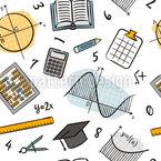 Algebra-Elemente Nahtloses Vektormuster