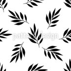 Falling Twigs Seamless Vector Pattern Design